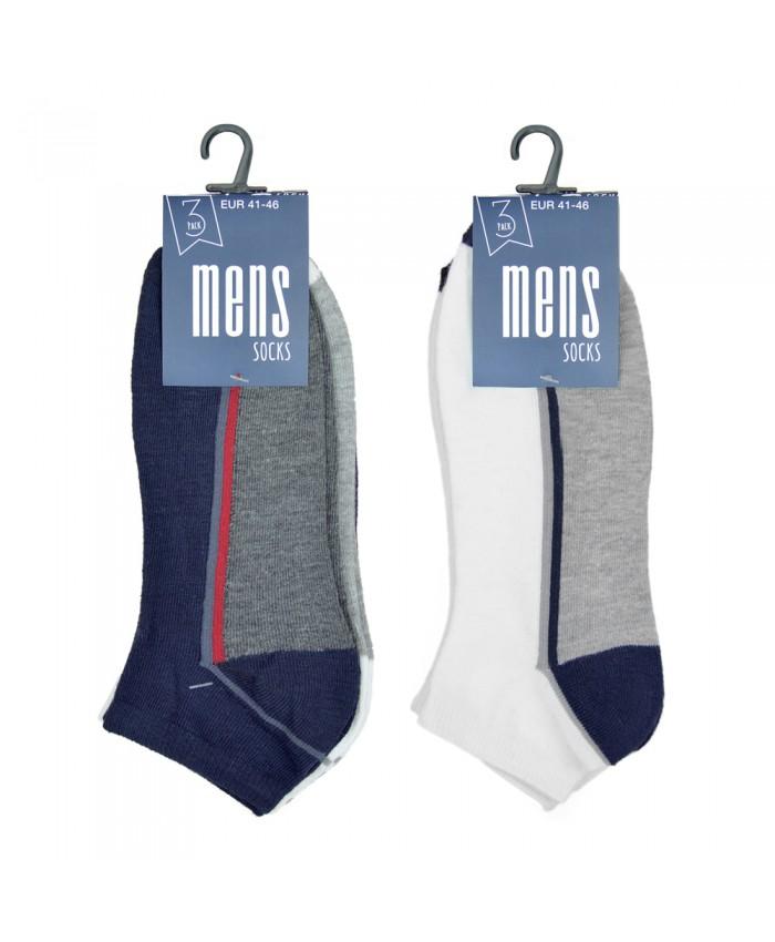 Men's Trainer socks  (3 pair pack)