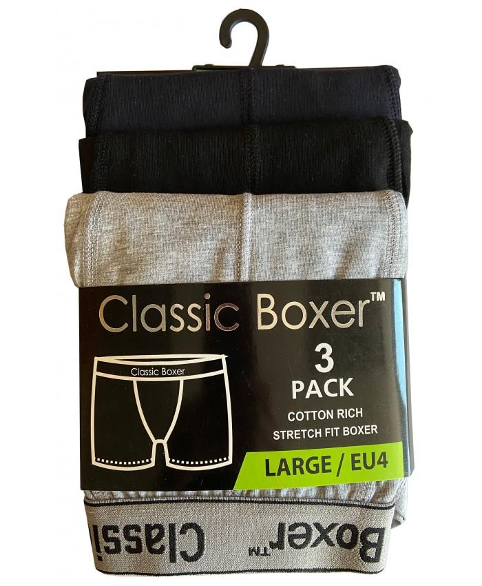 Men's 3 Pack Boxer Short (Assorted Colours)