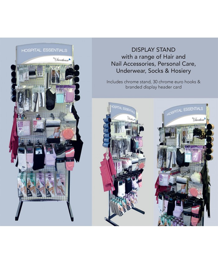 Hospital Essentials Display Stand (Includes Products)