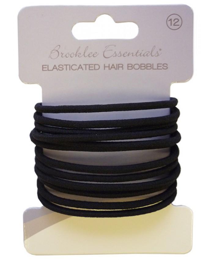 12 pack Elasticated Hair Bobbles