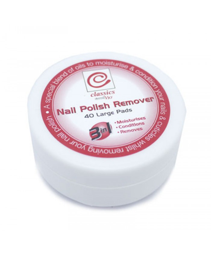 Classic Nail Polish Remover Pads 40's