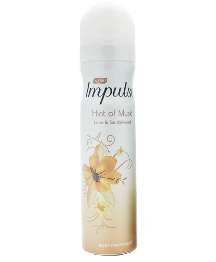 Impulse Body Spray Hint of Musk 75ML