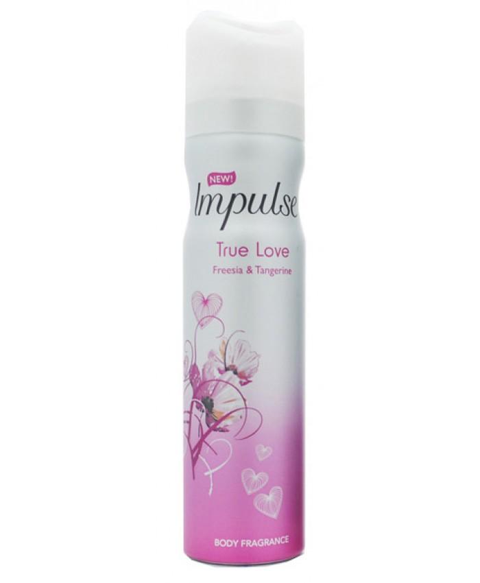 Impulse Body Spray True Love 75ML