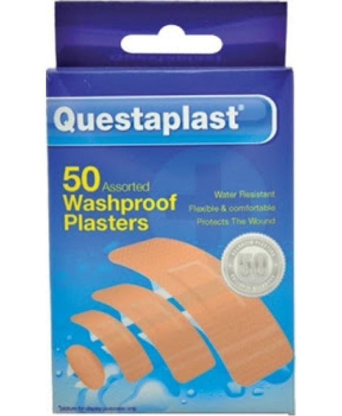 Questa Plasters Waterproof 50's