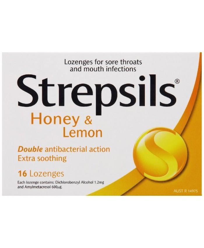 Strepsils Honey & Lemon 16's