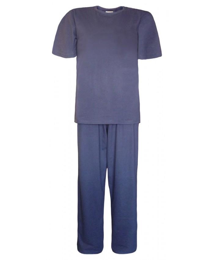 Men's Long Pyjamas Navy